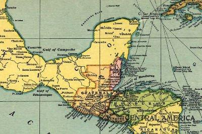 Maps Maya Area - Planet Archaeology