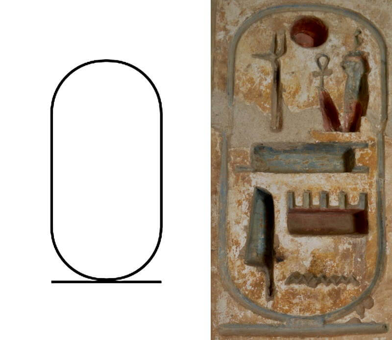 hieroglyph cartouche - Ramesses III Throne name - Planet Archaeology